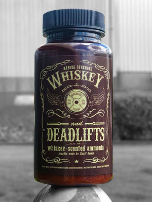 Whiskey & Deadlifts Scented Ammonia - Kabuki Strength Store