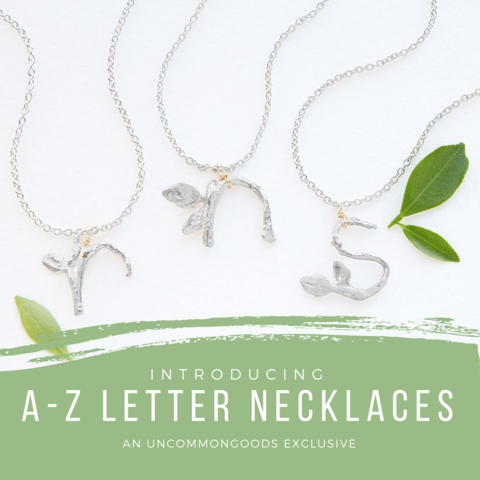 A-Z Letter Necklaces