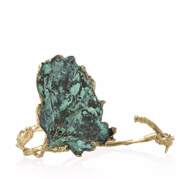 Patina Botanical Bracelet