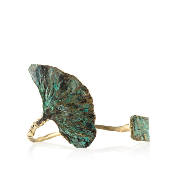 Patina Natures Treasure Cuff