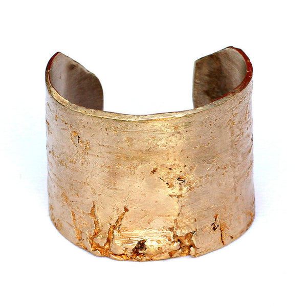 Golden Birch Handmade Cuff