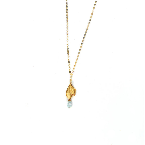 Timeless Topaz Drop Necklace