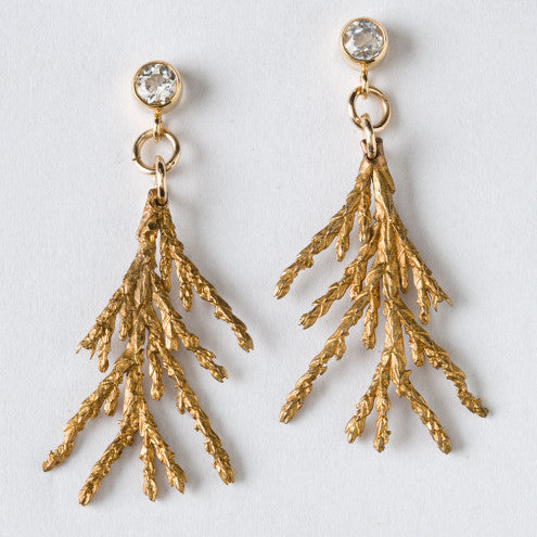 Whispering Cedar Earrings