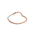 Copper Twisted Twig Bracelet