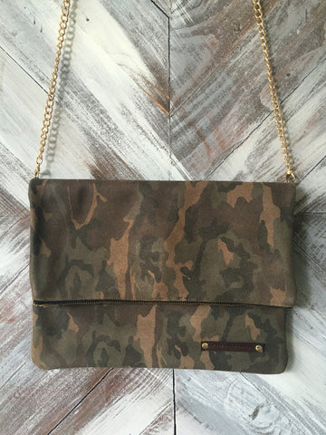 Kennedy Clutch in Camo
