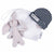 Newborn Deluxe Gift Set in Grey + Indigo