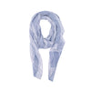 Navy Stripes Cotton Scarf - renegades of chic