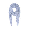 Navy Dot Cotton Scarf - renegades of chic