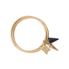 Black Spike Mbili Bangle - renegades of chic