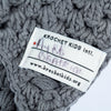 The Hoot Beanie in Grey