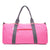 Pink Canvas Duffle Bag
