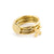 Brass XO Stacking Rings