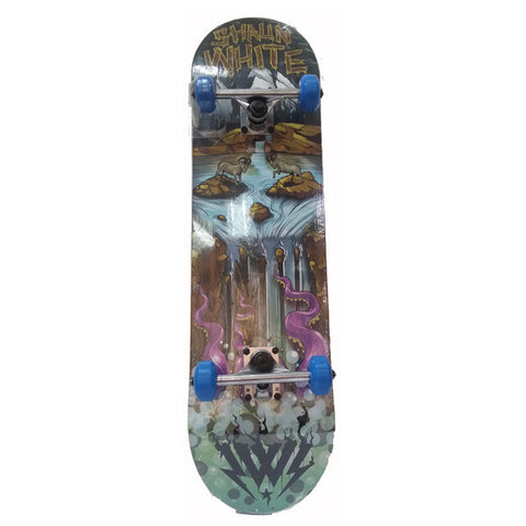 Grom Series Skate Board - Water Fall