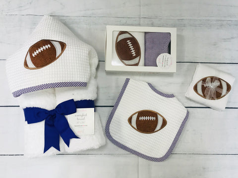 3 Martha's Purple Football Collection