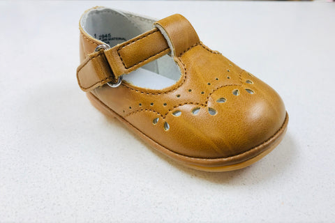 Mustard Perforated MJ 2945