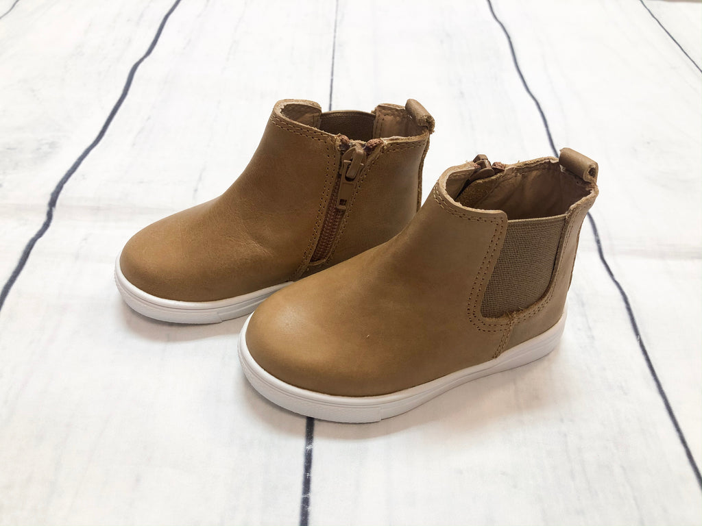 Brown Hard Sole Boots