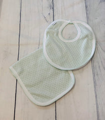 Paty Burp & Bib Set