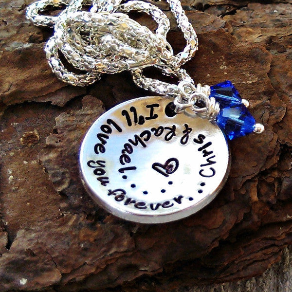 I'll love you forever Anniversary Necklace