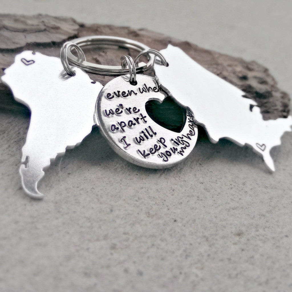 Keep you in my Heart Keychain