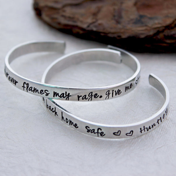 Firefighter Wife Prayer Bracelet