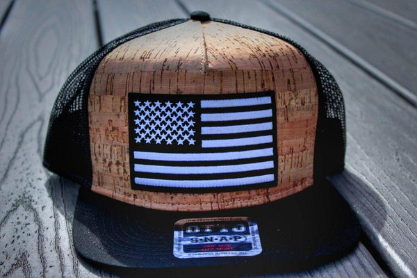 American Flag Baseball or Trucker Hat