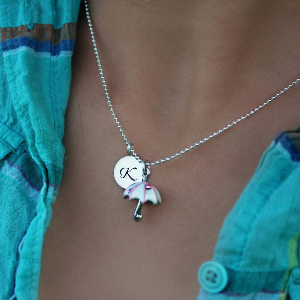 Day Dreamer Umbrella Necklace