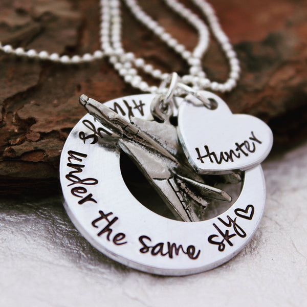 Always Under the Same Sky Deployment Necklace