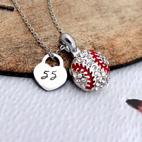 Baseball or Softball Necklace