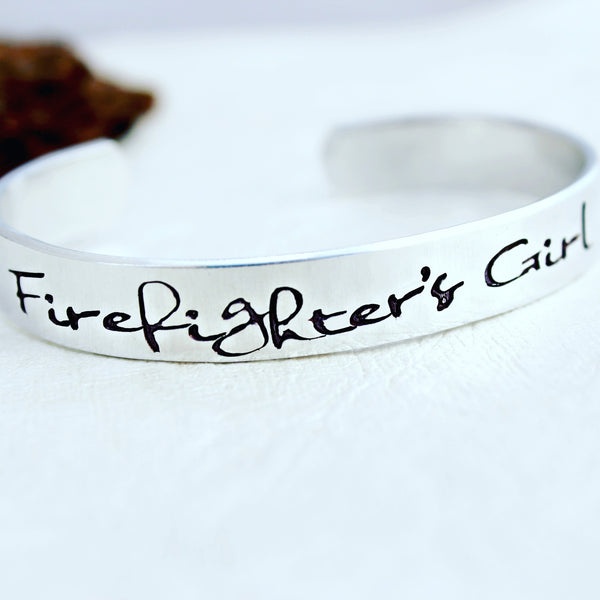 Firefighter's Girl Bracelet