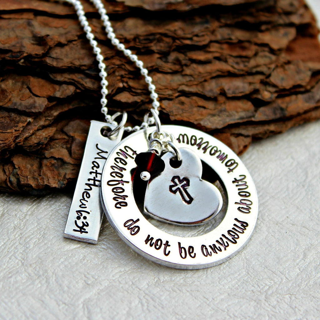 Confirmation Bible Verse Necklace