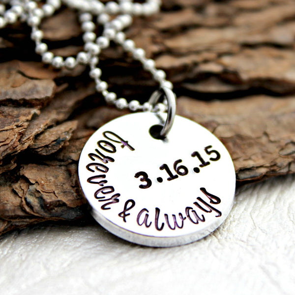 Forever and Always Anniversary Necklace