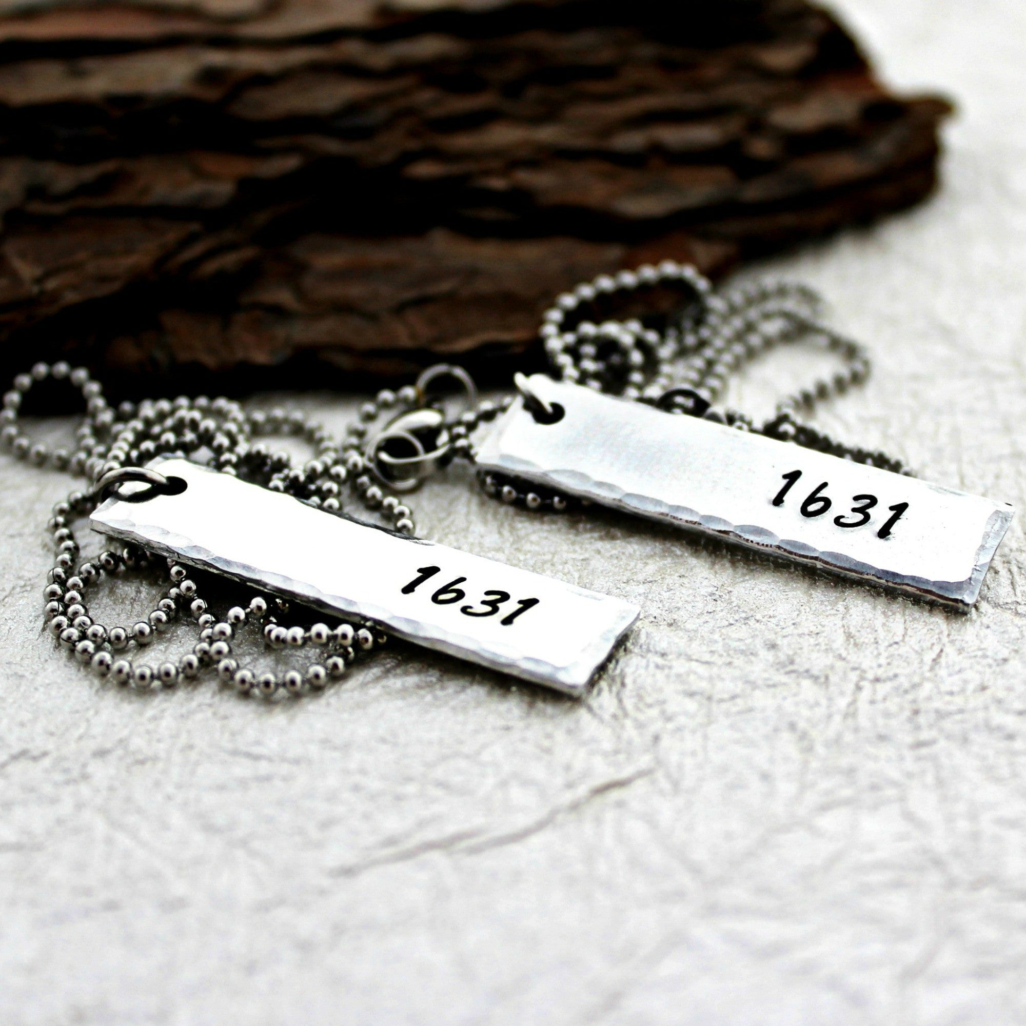 Fabulous Father Daughter Matching Necklaces – Sweet Aspen Jewels NF85