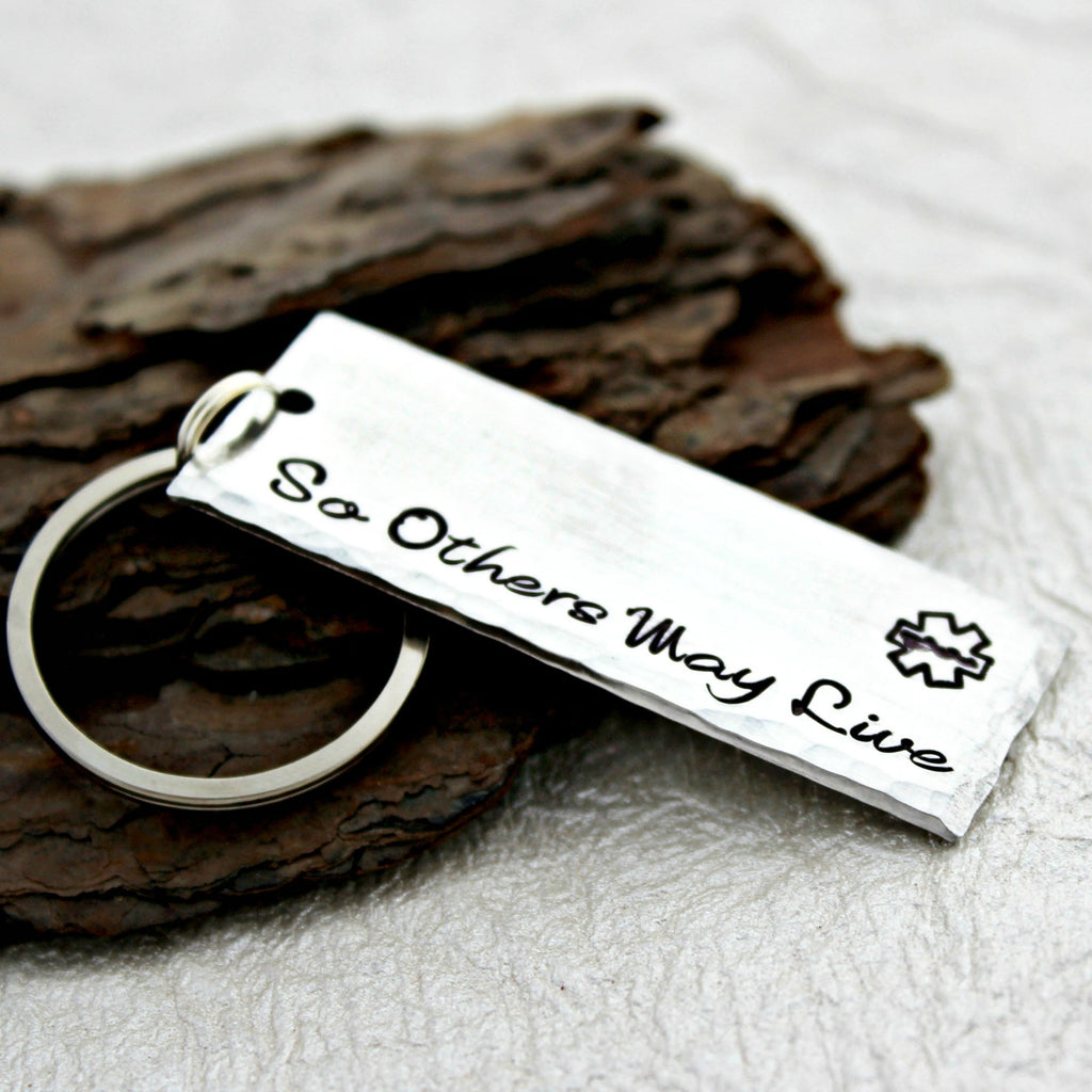 So others may live EMS Keychain