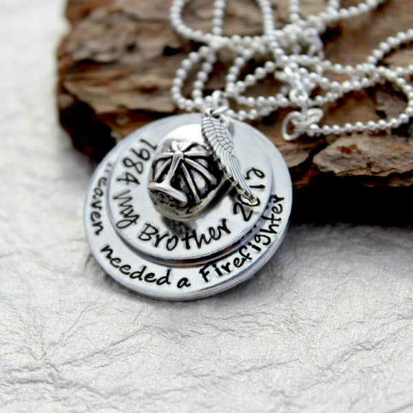 Firefighter Memorial Necklace