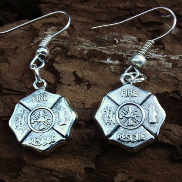 Firefighter Earrings