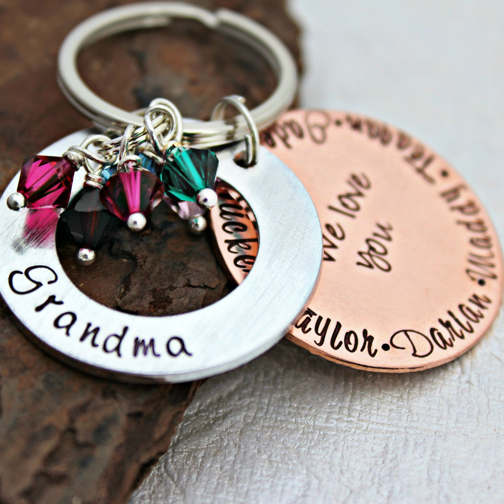 Secret Message Keychain