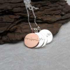 Sterling Silver Mimi Necklace
