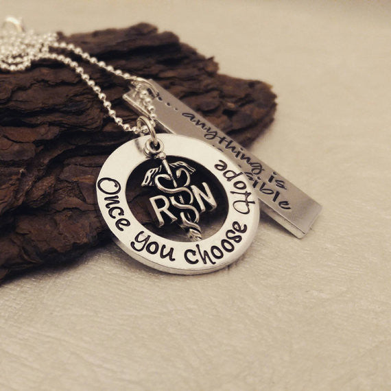 Hope Nurse Necklace