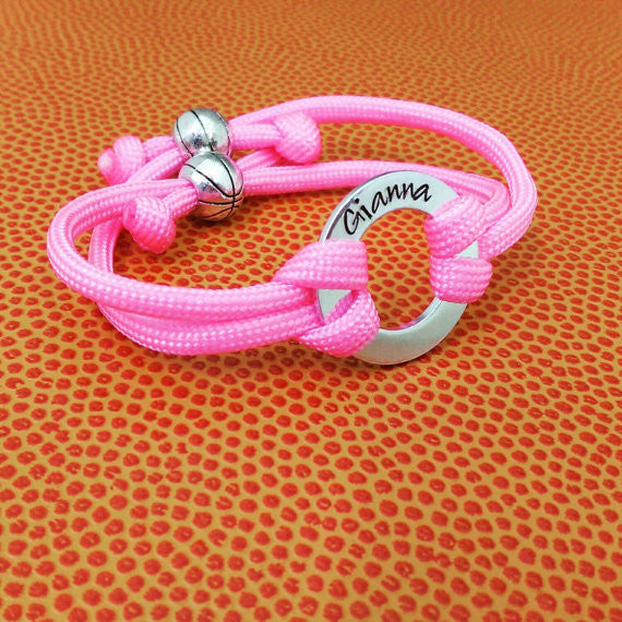 Team Paracord Bracelet with Personalization