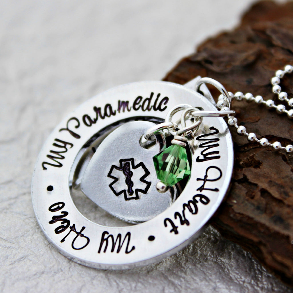 Paramedic Wife Necklace