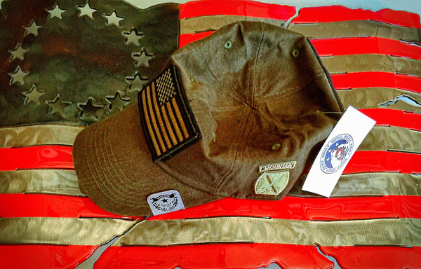 10th Mountain Olive Drab Tactical Cap (BUILD-A-CAP) - Mountain UP