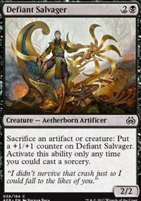 042//184 - Aether Revolt 4 x Reverse Engineer Uncommon