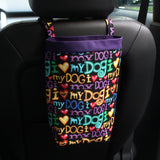 Car Trash Bag - I Love Dogs