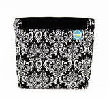 Car Headrest Caddy ~ Black Damask