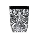 Car Trash Bag ~ Black Toile Oilcloth