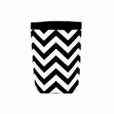 Car Trash Bag ~ Black Chevron