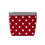 Car Headrest Caddy ~ Red Polka Dots