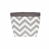 Car Headrest Caddy ~ Gray Chevron