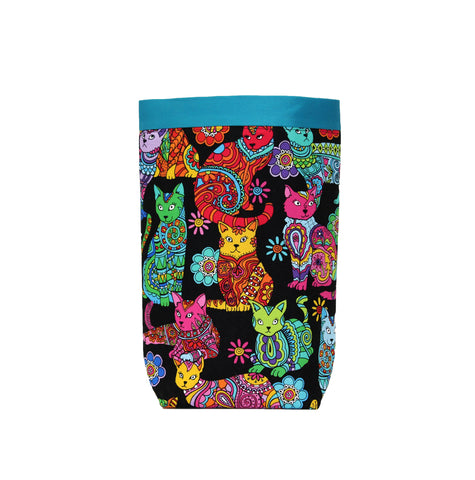 Car Trash Bag ~ Color Me Cats!