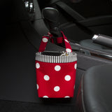 Car Cellphone Caddy ~ Red Polka Dots